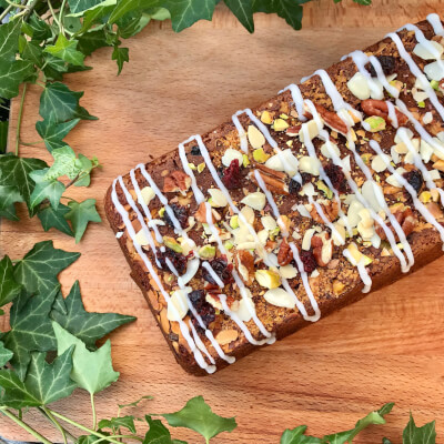 Vegan Christmas Tea Loaf