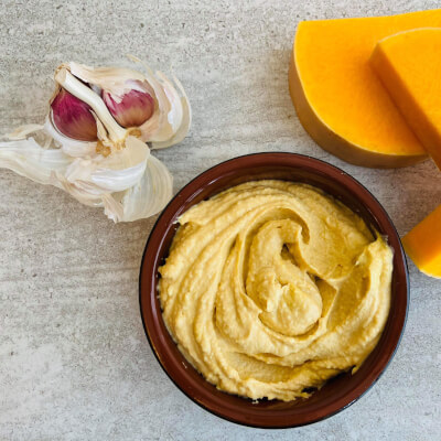 Roasted Butternut Squash And Cumin Hummus