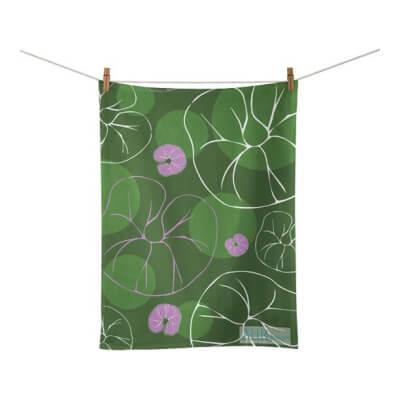 Sea Bindweed Tea Towel