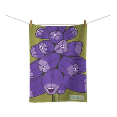 Muscari Tea Towel