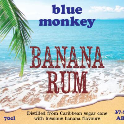 Blue Monkey Banana Rum 37.5%