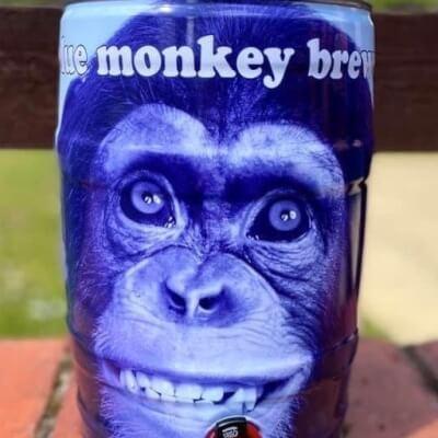 Blue Monkey Mini Cask 5Lt Bg Sips
