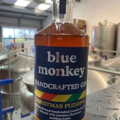 Blue Monkey Christmas Pudding Gin