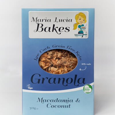 Macadamia & Coconut Low Carb Granola