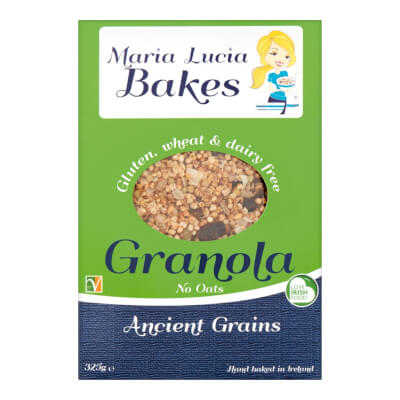"Buckwheat Millet Quinoa ""Ancient Grains"" Oat Free Granola 325G"