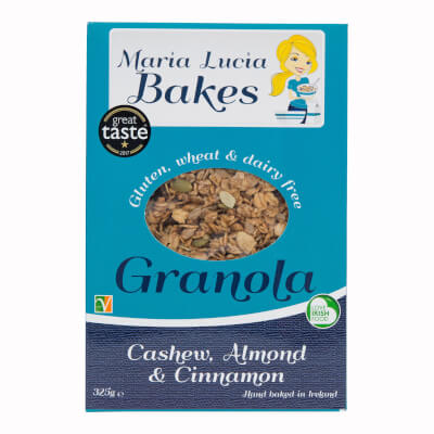 Cashew Almond & Cinnamon Granola