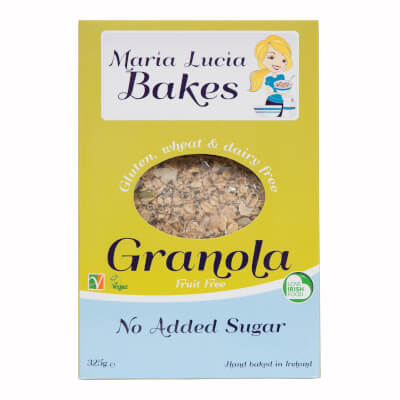 No Added Sugar Granola Gluten Free Granola