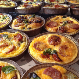 6 Assorted Mini Quiche