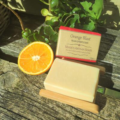 Orange Blast - Vegan Shampoo Bar