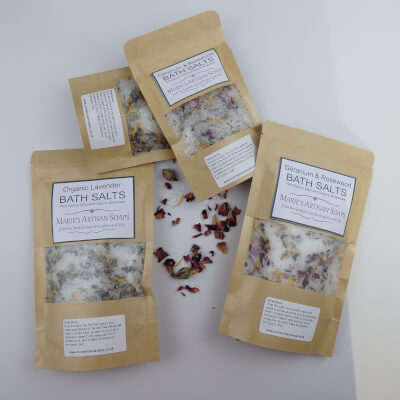Organic Lavender Bath Salts