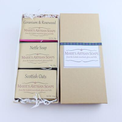 Soap Trio Gift Box