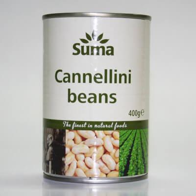 SUMA Cannellini Beans 400g