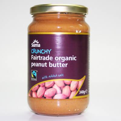 SUMA Organic Crunchy Peanut Butter