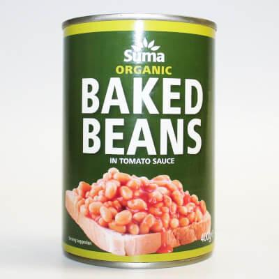 SUMA Organic Baked Beans