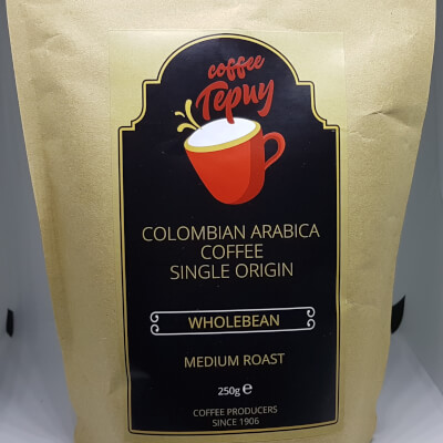 Colombian Coffee Washed Wholebean