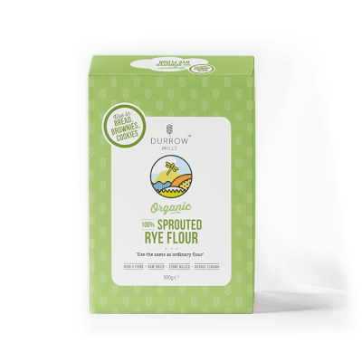 Organic Sprouted Rye Flour 800G