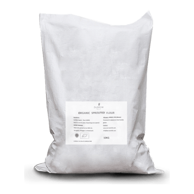Organic Sprouted Fine Milled Wheat Flour 10Kg