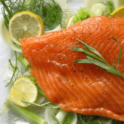 Salmon Shoulder