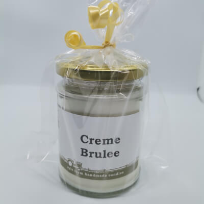 Creme Brulee 100% Soy Wax Candle