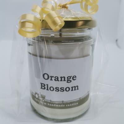 Orange Blossom 100% Soy Wax Candle
