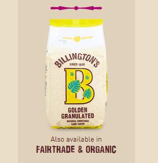 Billingtons Organic Golden Granulated Sugar 500G