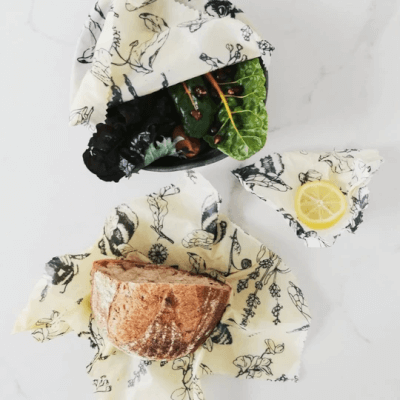 Millbee - Beeswax Food Wraps Variety 3 Pack