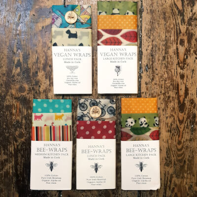 Hanna's Bees Wrap - Large Kitchen Pack