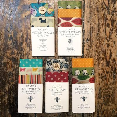Hanna's Bees Wrap - Medium Kitchen Pack