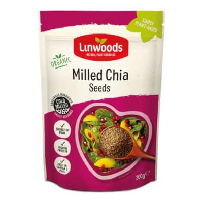 Linwood Milled Chia Seeds (200G)