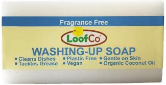 Loofco Washing-Up Soap Bar Fragrance Free 100G