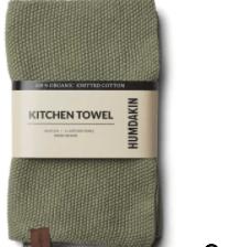 Humdakin - Knitted Kitchen Towel - Fern Green