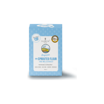 Durrow Mills Organic 100% Sprouted Fine Milled Wheat Flour