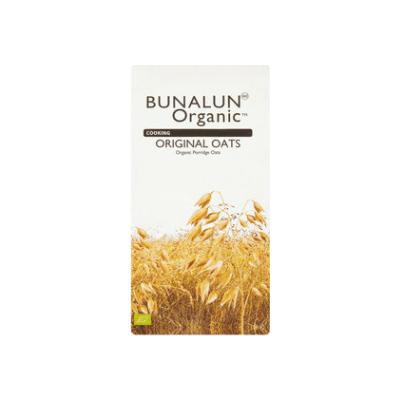 Bunalun Organic Original Porridge Oats