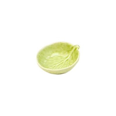 Van Verre - Handmade Bordallo Salt Bowl Lime Green