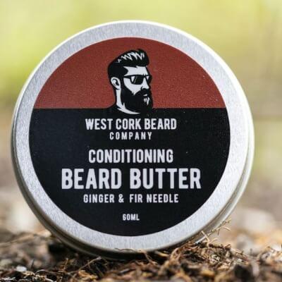 West Cork Beard Company - Beard Butter  Ginger And Fir Needle