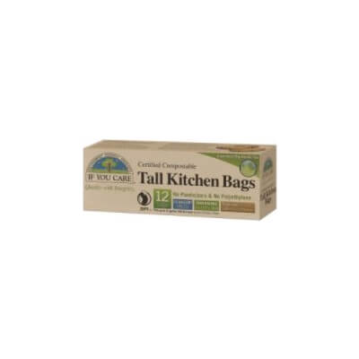 If You Care  49L Compostable Tall Kitchen Bags ( 12Pk)