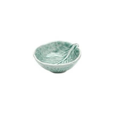 Van Verre - Handmade Bordallo Salt Bowl Ice Blue