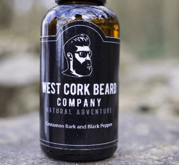 West Cork Beard Company - Beard Oil Cinnamon Bark And Black Pepper