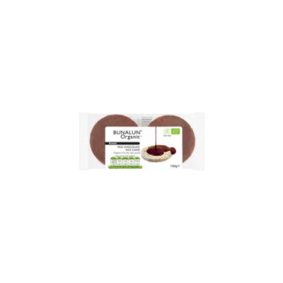 Bunalun Organic Milk Chocolate Rice Cakes