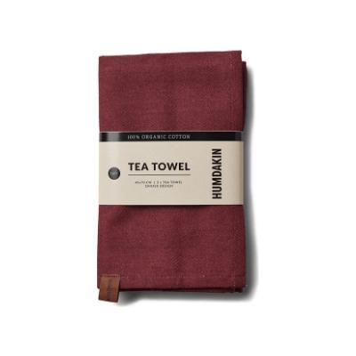 Humdakin - Organic Tea Towel - 2 Pack Violet Plum