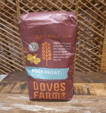 Doves Farm Organic Stoneground Wholemeal Buckwheat Flour 1Kg