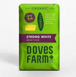 Doves Farm Organic Strong White Bread Flour 1.5Kg