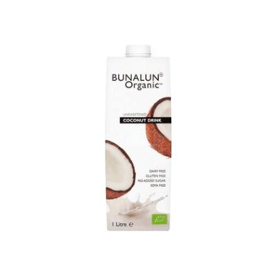 Bunalun  Coconut Milk, Unsweetened 1L [V] [Gf]