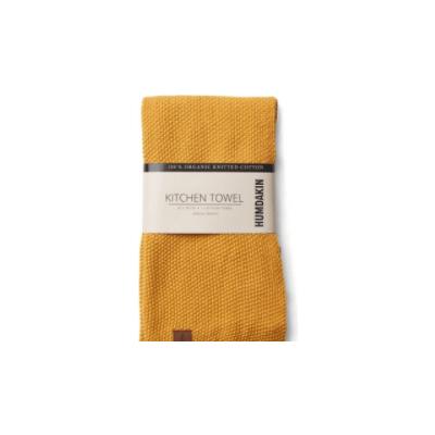 Humdakin - Knitted Kitchen Towel - Mustard