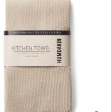 Humdakin - Knitted Kitchen Towel - Light Stone