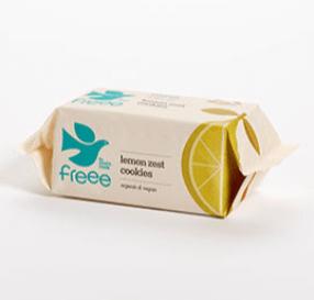 Freee By Doves Farm Gluten Free Organic Lemon Zest Cookies 150G
