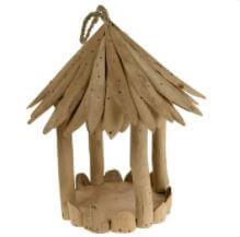 Shared Earth Bird Feeder - Driftwood Round