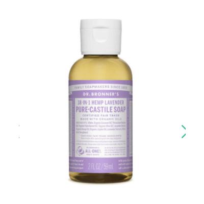 Dr Bronner Pure-Castile Liquid Soap Lavender