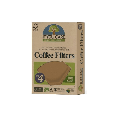 If You Care Coffee Filters ( No.4) 100Pk