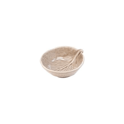 Van Verre - Handmade Bordallo Salt Bowl Powder Pink.